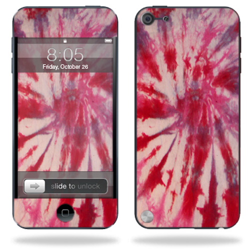 Mightyskins Protective Skin Decal Cover for Apple iPod Touch 5G (5th generation) MP3 Player wrap sticker skins Tie Dye 1