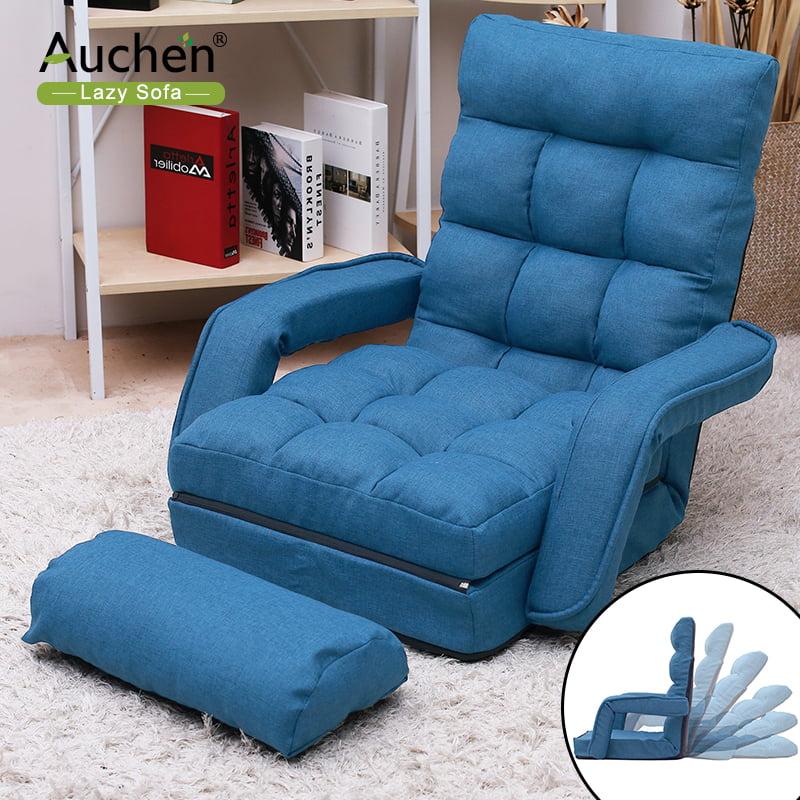 Living Room Chair, AUCHEN Adjustable Sofa Chair, Folding Lazy Sofa