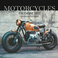 Motorcycles Calendar 2020: 16 Month Calendar (Paperback)