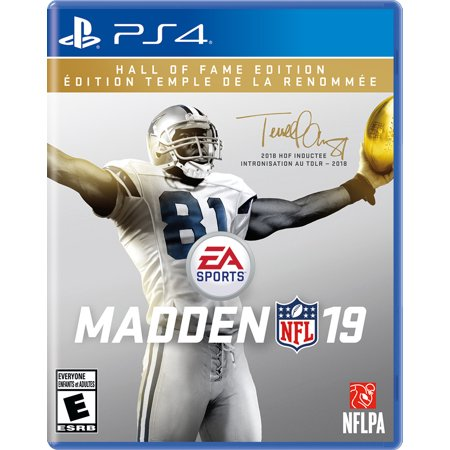 Madden NFL 19 Hall of Fame Edition, Electronic Arts, PlayStation 4, 014633739213
