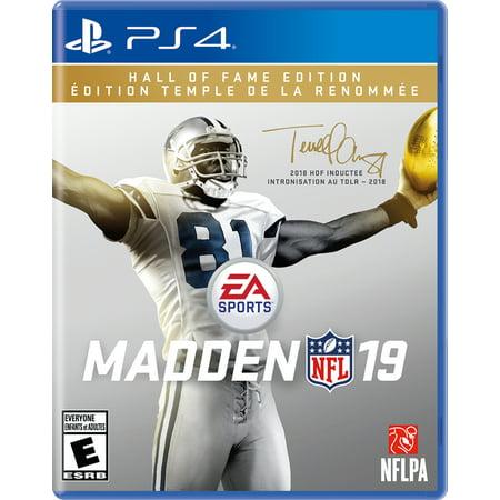 Madden NFL 19 Hall of Fame Edition, Electronic Arts, PlayStation 4, (Steve Madden Gold)