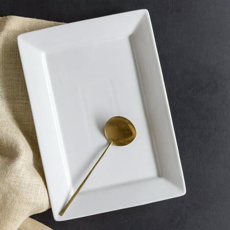 - Better Homes & Gardens 10x14 Porcelain Serve Platter, White