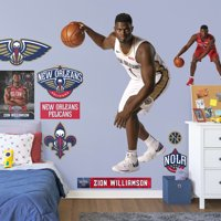 Fathead Zion Williamson - Life-Size Officially Licensed NBA Removable Wall Decal