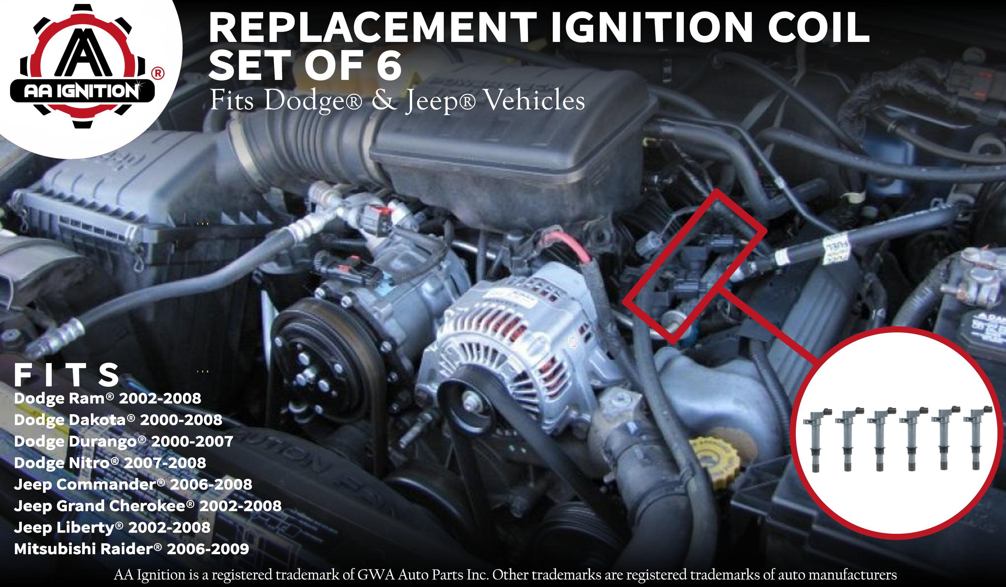 ignition coil dodge durango