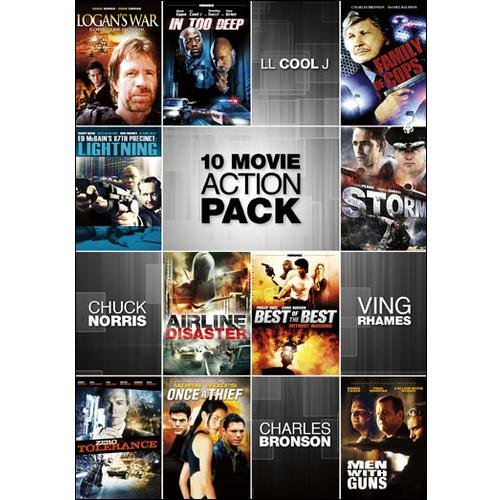 10 Movie Action Pack (Widescreen)