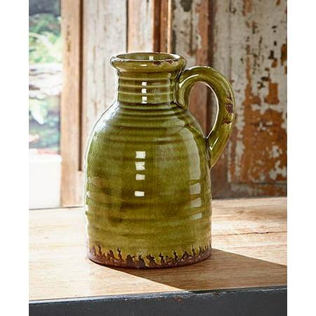 Rustic Ceramic Pottery Vase Jug
