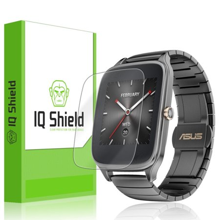 Asus Zenwatch 2 49mm Screen Protector, IQ Shield LiQuidSkin (6-Pack) Full Coverage Screen Protector for Asus Zenwatch 2 49mm HD Clear Anti-Bubble Film ...
