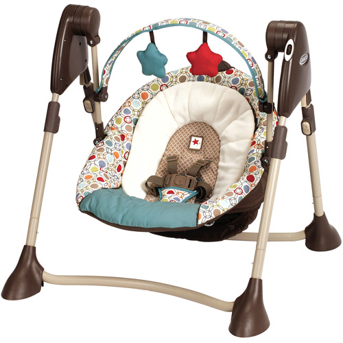 Graco Swing By Me Portable Swing, Twister