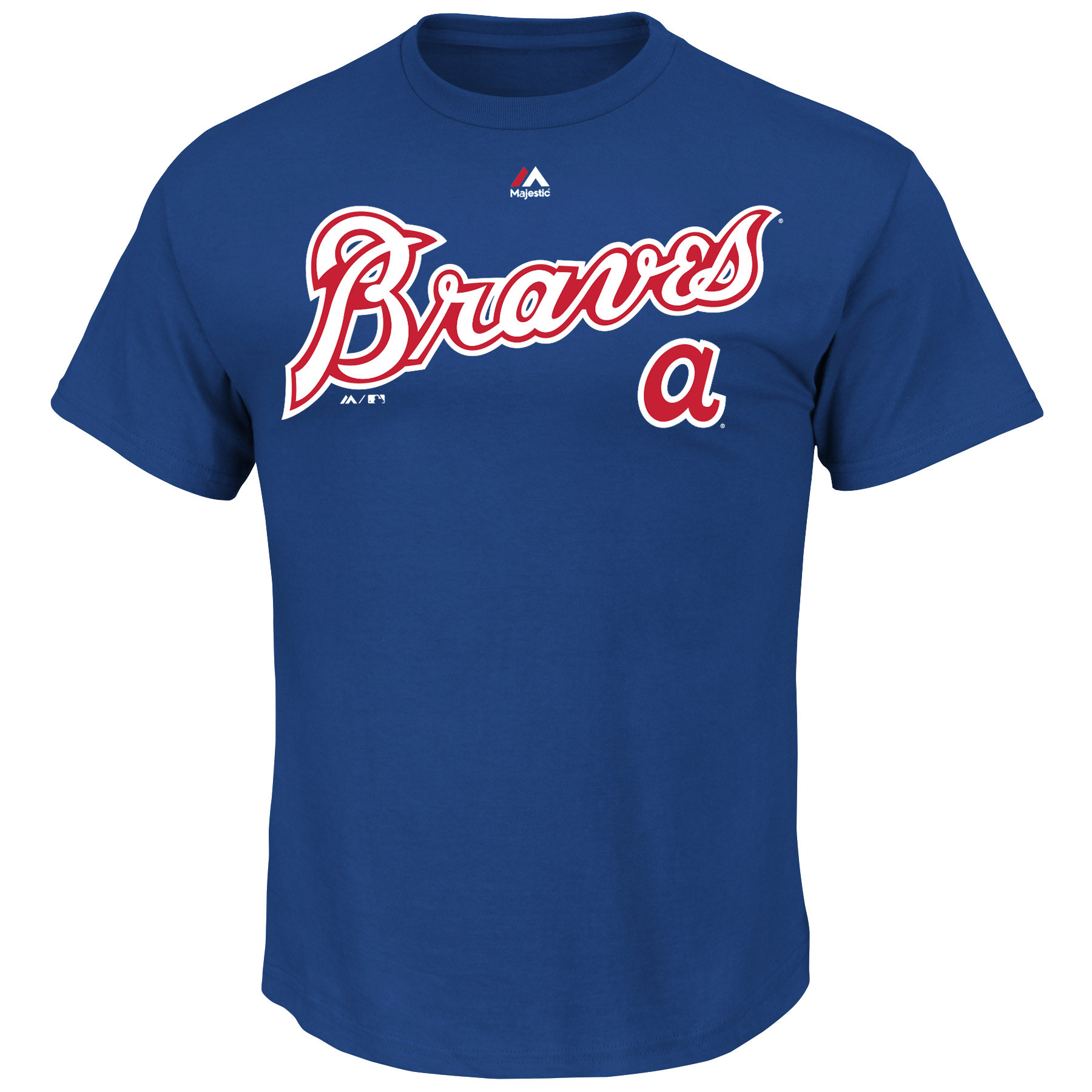 "Atlanta Braves Majestic MLB ""Series Sweep"" Cooperstown Men's S/S T-Shirt"