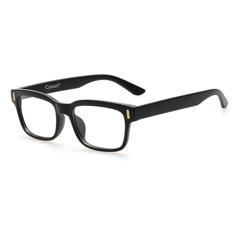 Cyxus Blue Light Blocking Computer Glasses for Anti Eye Fatigue UV Relieving Headaches, Square Black Frame Gaming Eyewear - Walmart.com | Tuggl