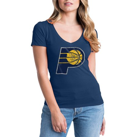 Indiana Pacers Nba Car - Indiana Pacers Womens NBA Short Sleeve Baby Jersey V-neck