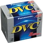 Panasonic DVM60 Mini DV Tape 5 Pack