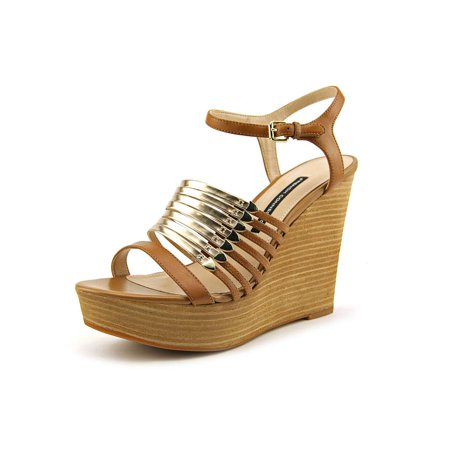 f1689c73ed76 French Connection - French Connection Demi Open Toe Synthetic Platform  Sandal - Walmart.com