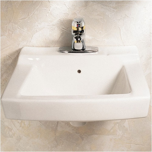 American Standard 0321.026.020 Declyn Wall Mounted Lavatory Sink for Wall Hangers (Included) with