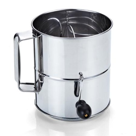 Cook N Home Stainless Steel 8-cup Flour Sifter by