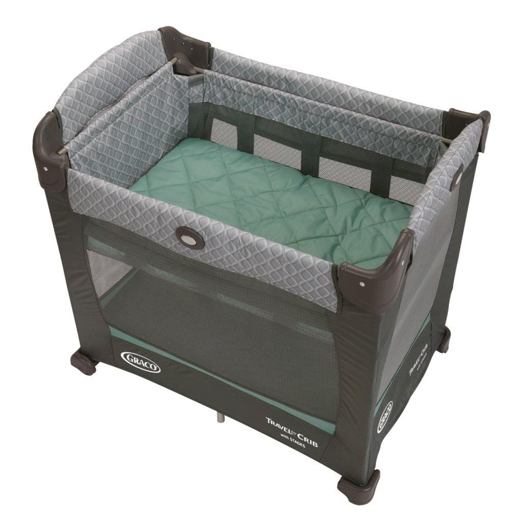 Graco Travel Lite Baby Crib Portable Playard Manor Walmart Com