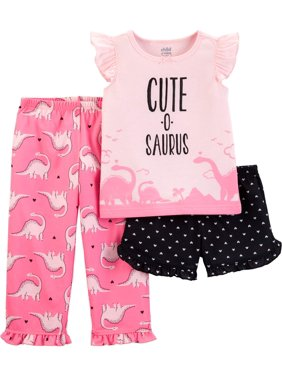 5222a2cc1 Toddler Girls Pajama Sets - Walmart.com