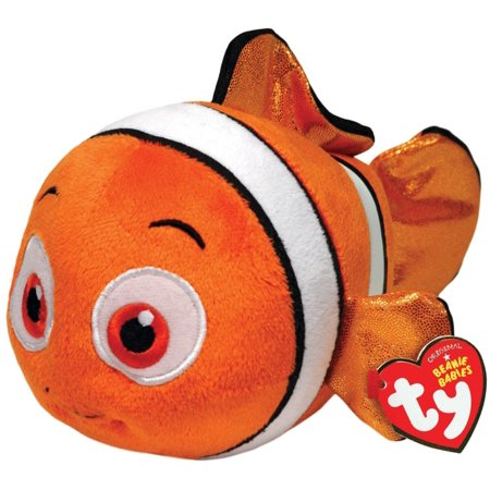 Nemo Sparkle Beanie Baby - Favorite Character Stuffed Animal by Ty (41063) - Ty Animals