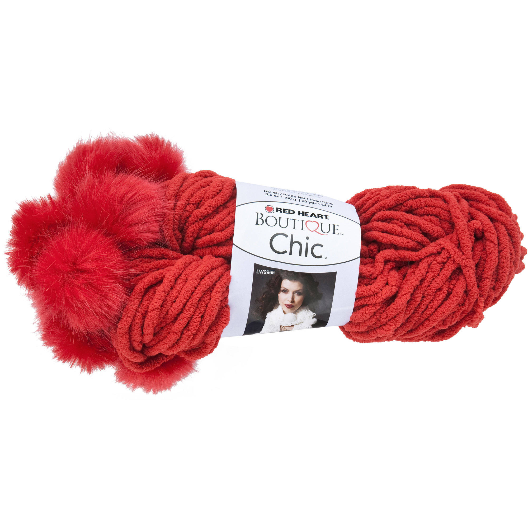 Red Heart Boutique Chic Yarn, Available in Multiple Colors