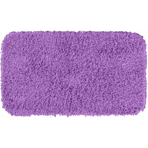 Jazz Runner Shaggy Nylon Washable Bath Rug