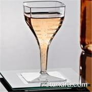 EMI Yoshi EMI-SWG2 Squares Mini Wine Glass 2 oz Pack of 35407 Clear by EMI YOSHI