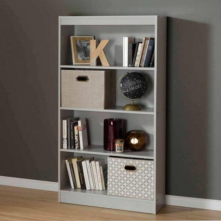 South Shore Smart Basics 4 Shelf 56 Quot Bookcase Multiple
