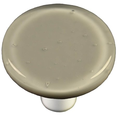 (Round Knob in Deco Gray (Aluminum))