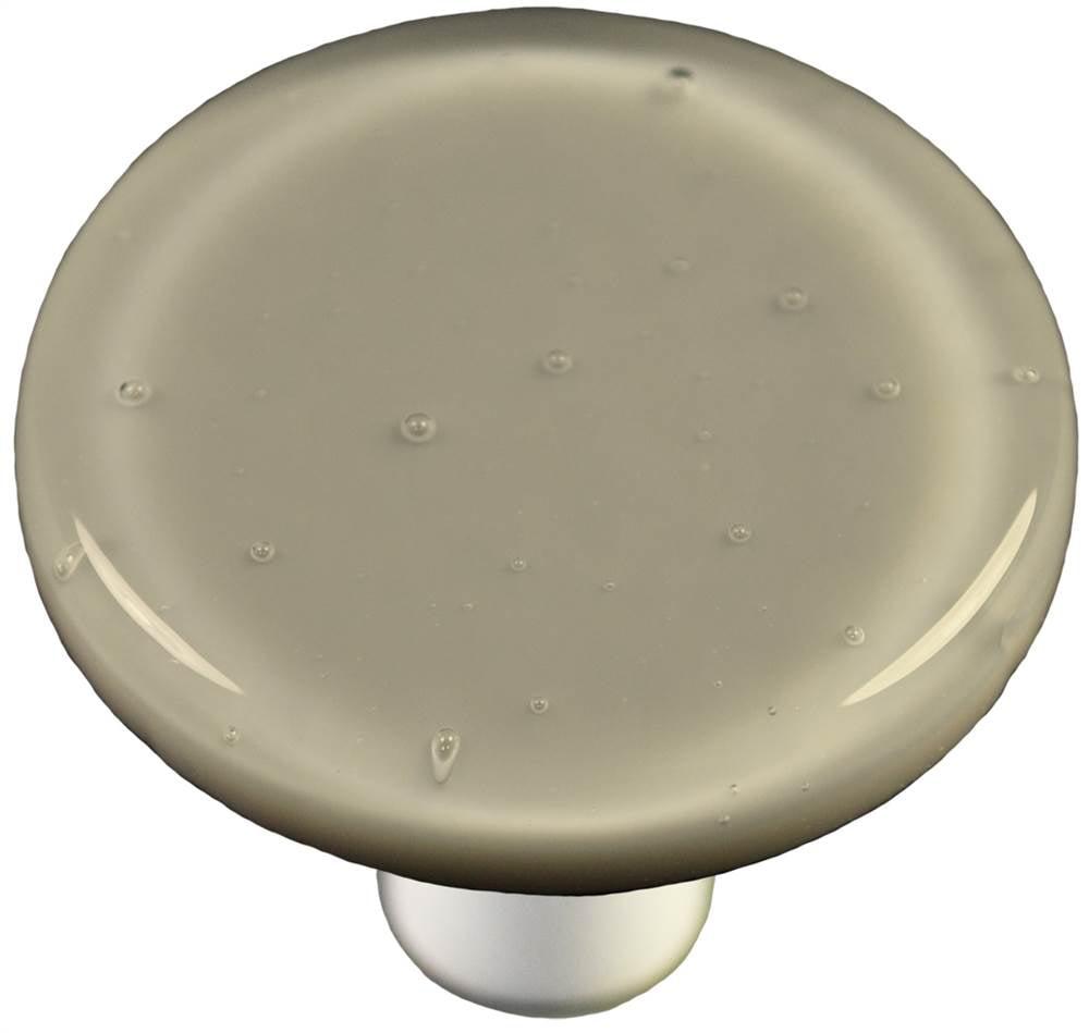 Round Knob in Deco Gray (Aluminum)