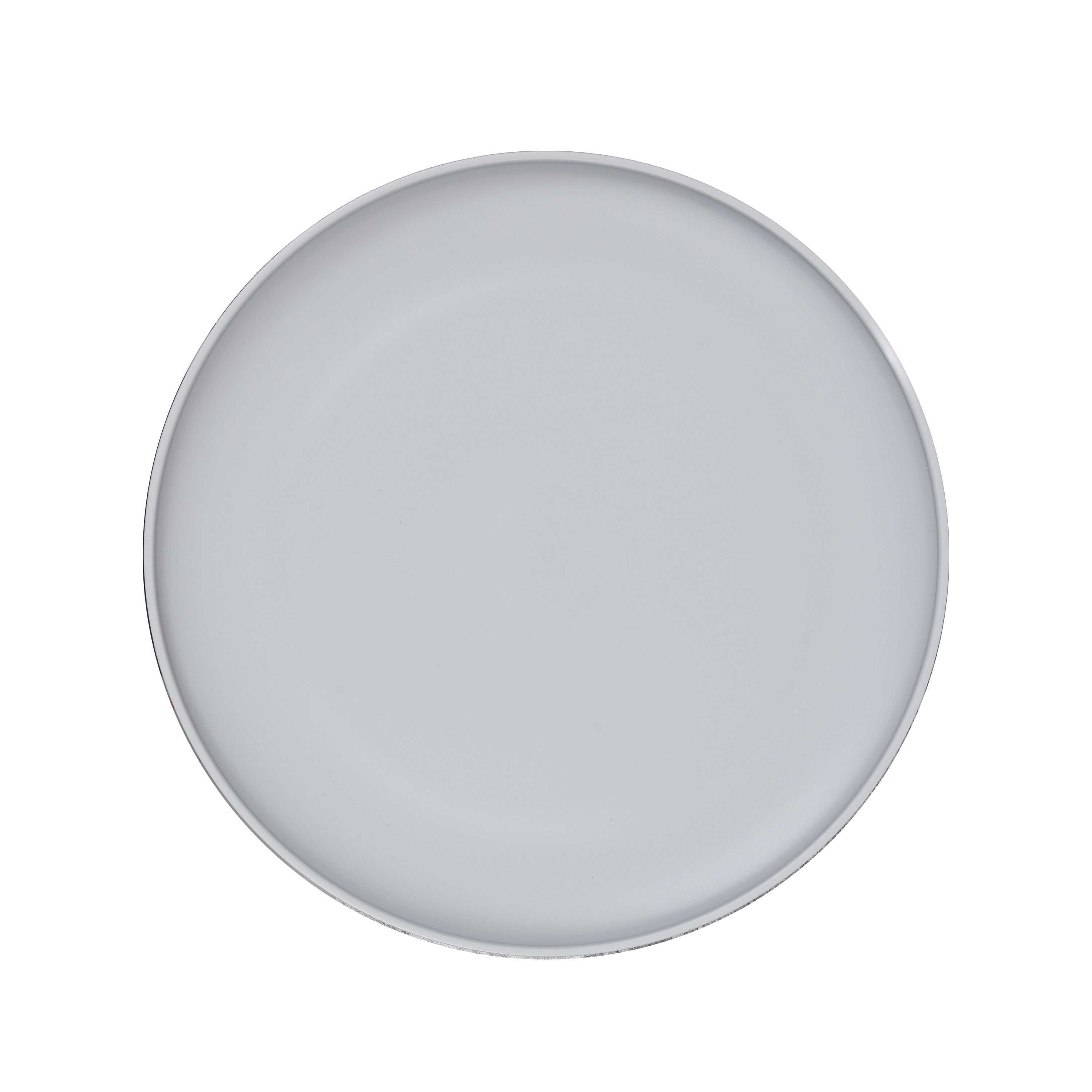 "Mainstays 10.5"" Gray Plate"