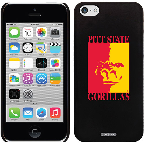 Coveroo Pittsburg State Primary Mark Design Apple iPhone 5c Thinshield Snap-On Case