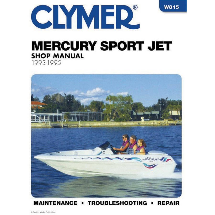 Clymer W815 Mercury Sport Jet Shop Manual - 1993-1995