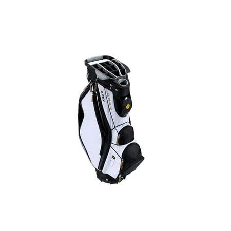 Image of Alphard Golf CB14101 Apex Cart Bag, White & Black
