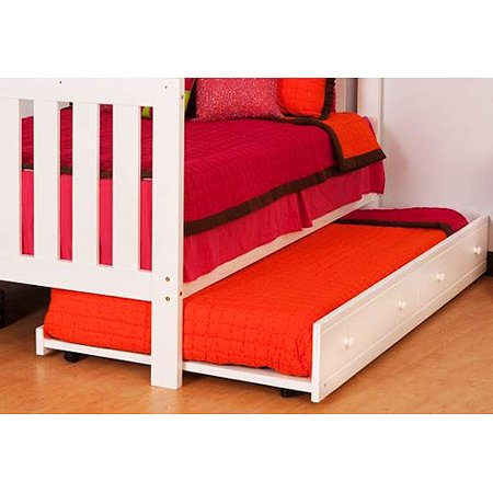Canwood Trundle Bed White Walmart Com