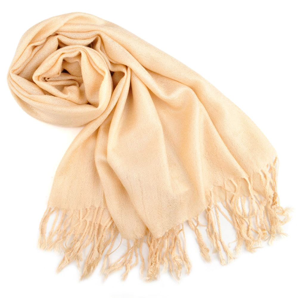 Toptie scarf wrap with tassel ends solid color tow tone color gift