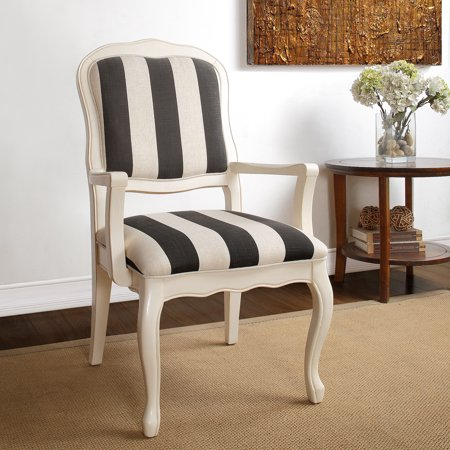 Novogratz Antique Striped Arm Chair, Mul