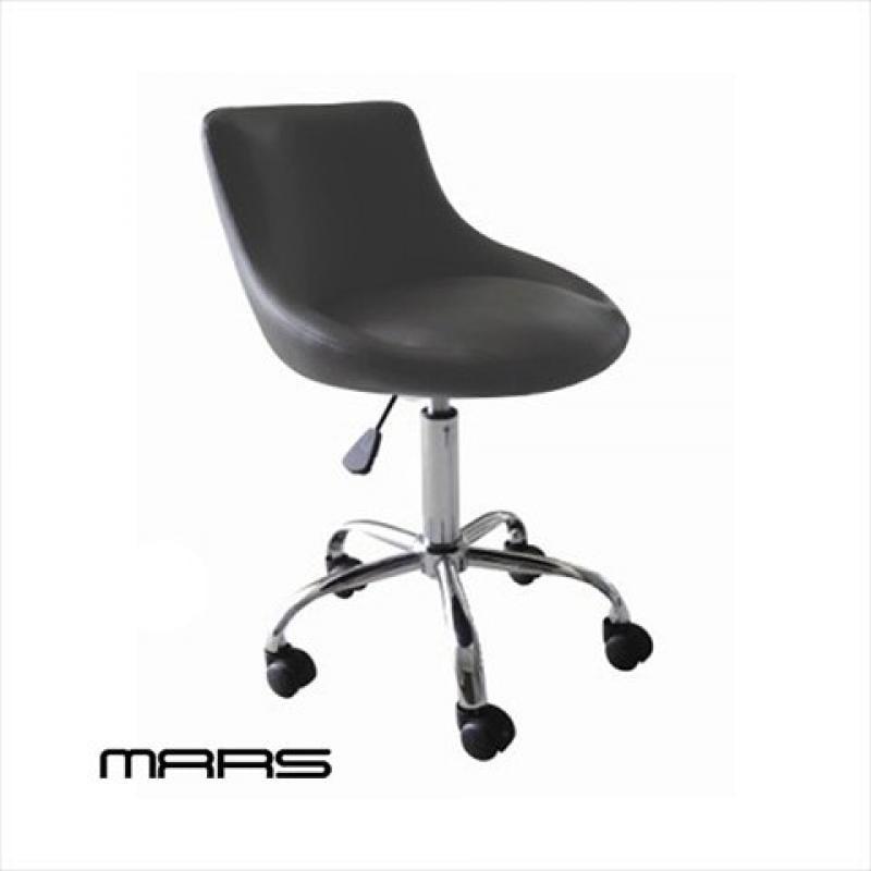 Modern Home Mars Adjustable Height Massage Stool with Wheels