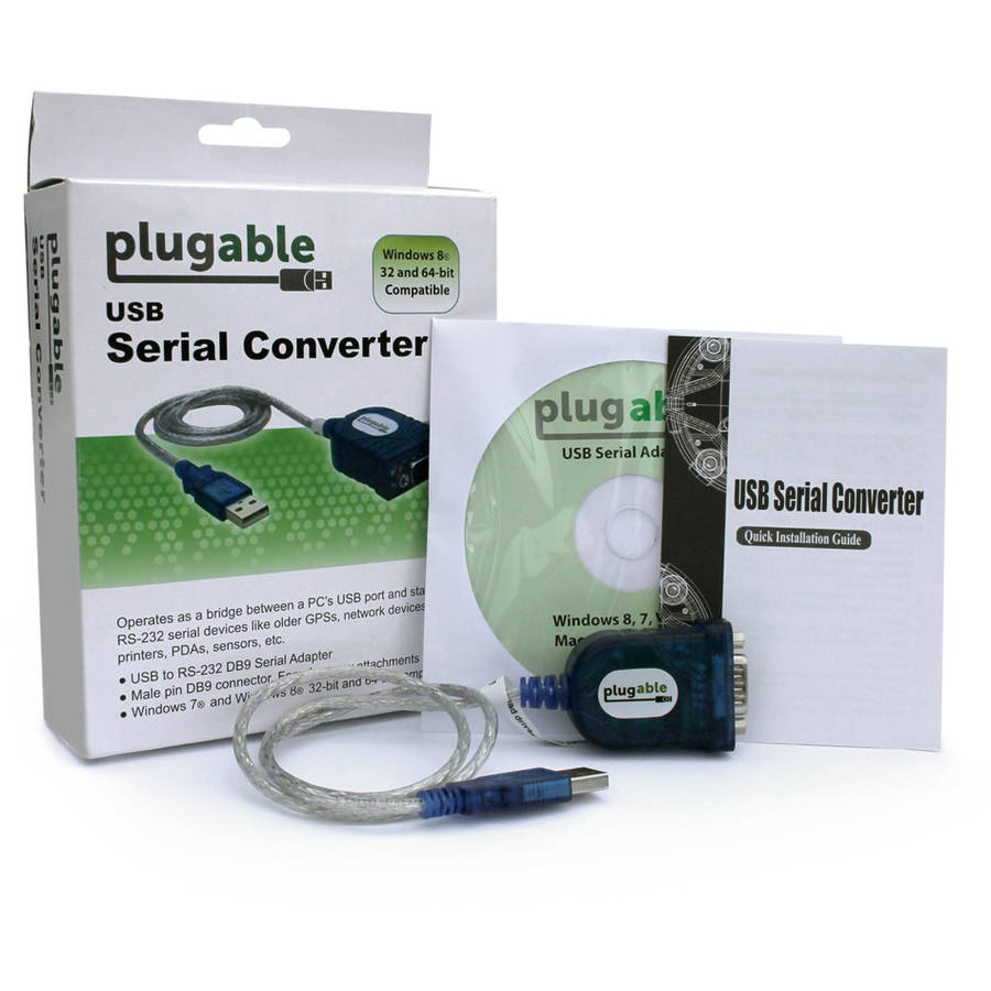 Plugable USB to RS-232 DB9 Adapter