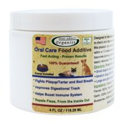Mad About Organics All Natural Dog & Cat Oral Care Food Additive Dental Plaque Remover 4oz