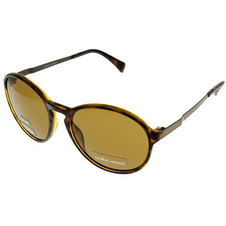 Giorgio Armani Sunglasses Unisex GA667V 84B Havana Size: Lens/ Bridge/ Temple: (Giorgio Armani Sunglasses Case)