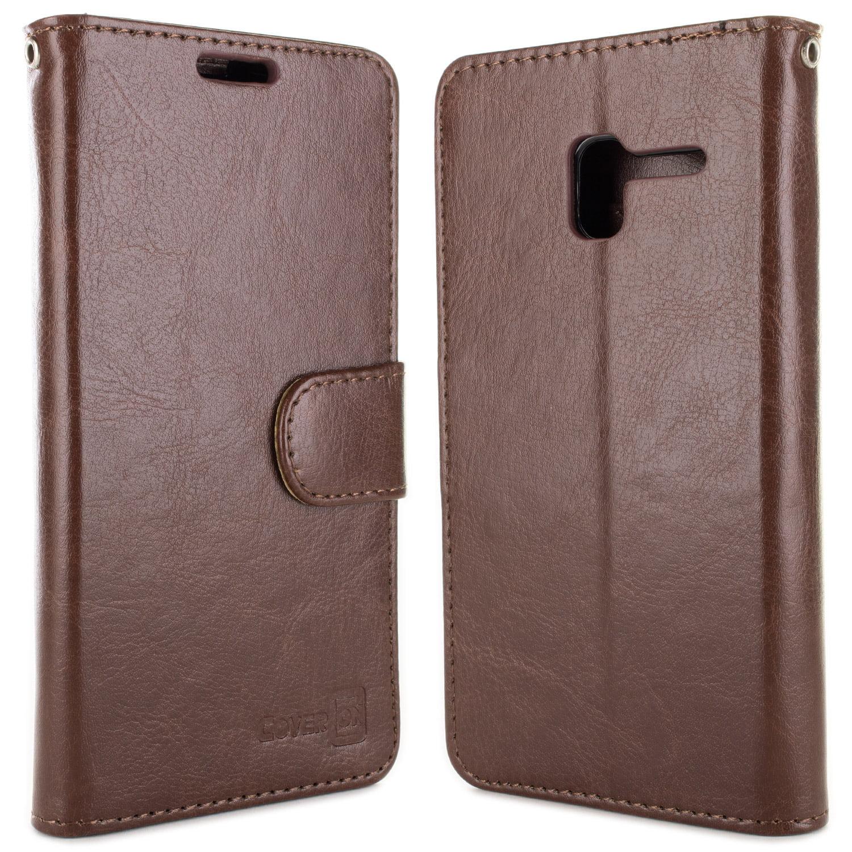 Vegan Leather Cellphone Purse for Alcatel Phone