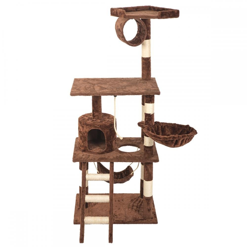 "BestPet 64"" Cat Tree Tower Condo Furniture Scratch Post Kitty Pet House by"