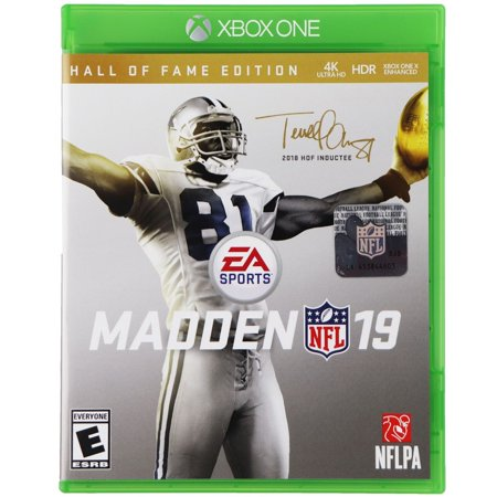 Madden NFL 19 Hall of Fame Edition for Xbox One (Released 2018) (Refurbished)