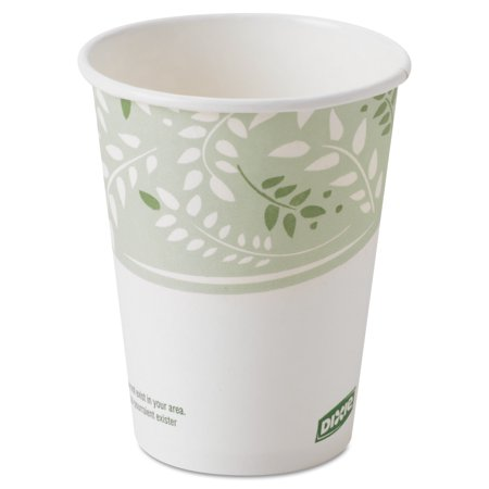 Paper Cup Cups - Dixie Viridian EcoSmart 8 Ounce Hot Cups, 1000ct -DXE2338PLA