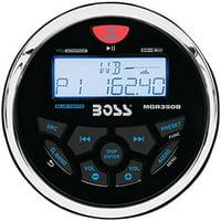 Boss Mgr350b Marine Flash Audio Player - 150 W Rms - Ipod/iphone Compatible - Mp3, Wma - Am, Fm - Secure Digital [sd] Card - Bluetooth - Usb - Auxiliary Input (mgr350b)