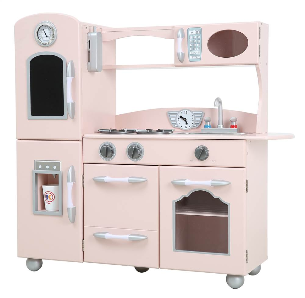 Teamson Kids 1 Piece Play Kitchen in Pink