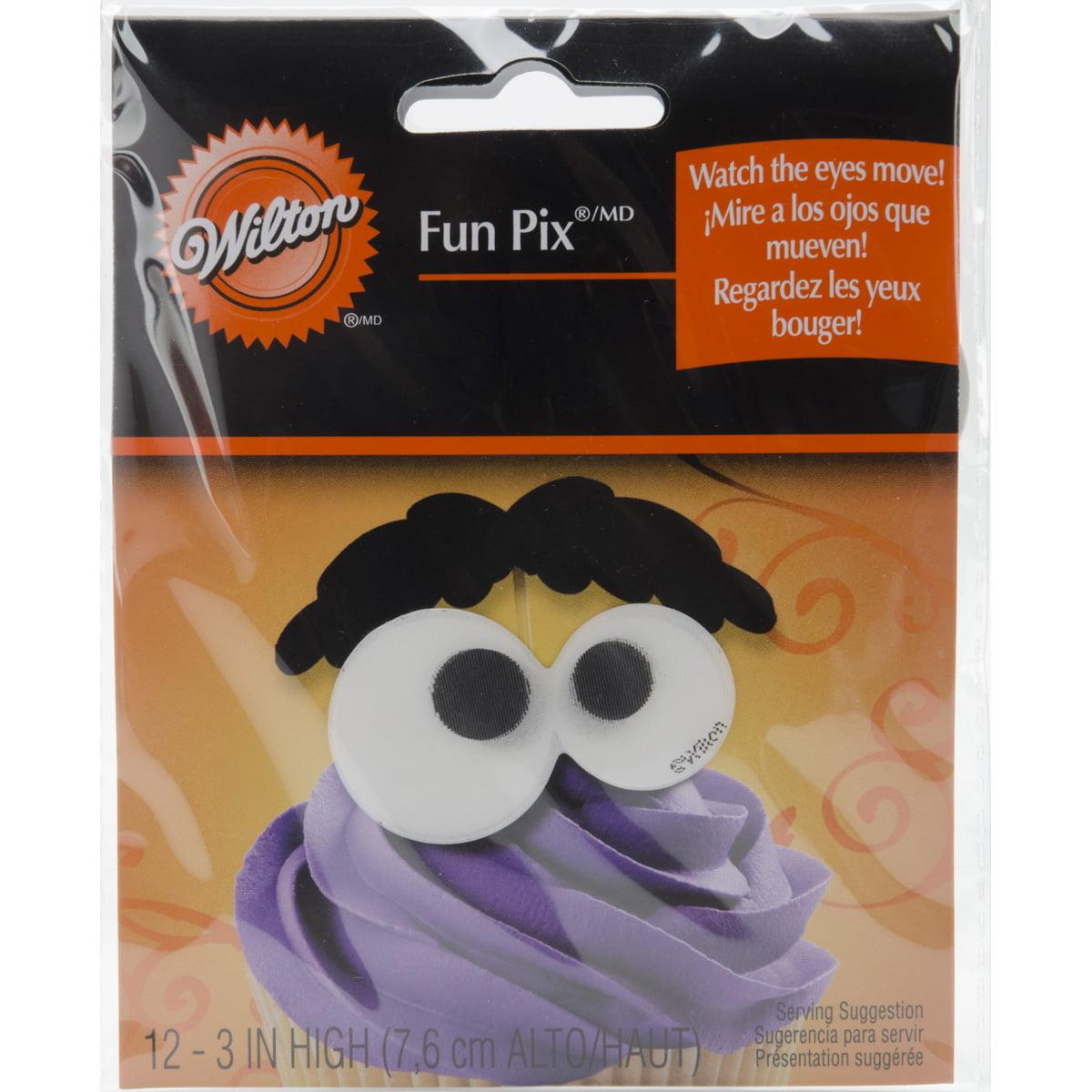 Fun Pix-Eyeballs & Eyebrows 10/Pkg