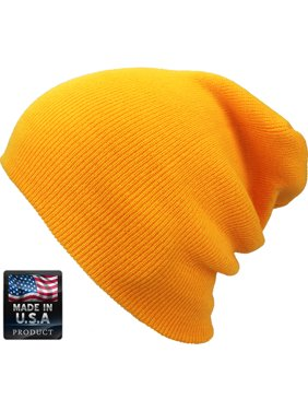 Plain Skully High Quality Made in USA Winter Beanie Hat