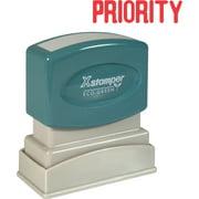 Xstamper PRIORITY Title Stamp, 1 Each (Quantity)