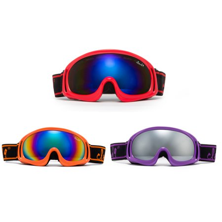 Atomic Kids Ski - Cloud 9 - Professional Kids Snow Goggles Anti-Fog Dual PC Lens UV400 Snowboarding Ski Goggles for Girl & Boy (1 Pair Only, Choose Your Color)