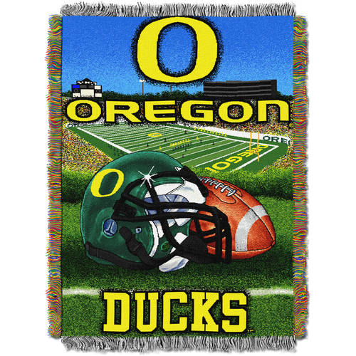 "NCAA 48"" x 60"" Tapestry Throw Home Field Advantage Series- Oregon"